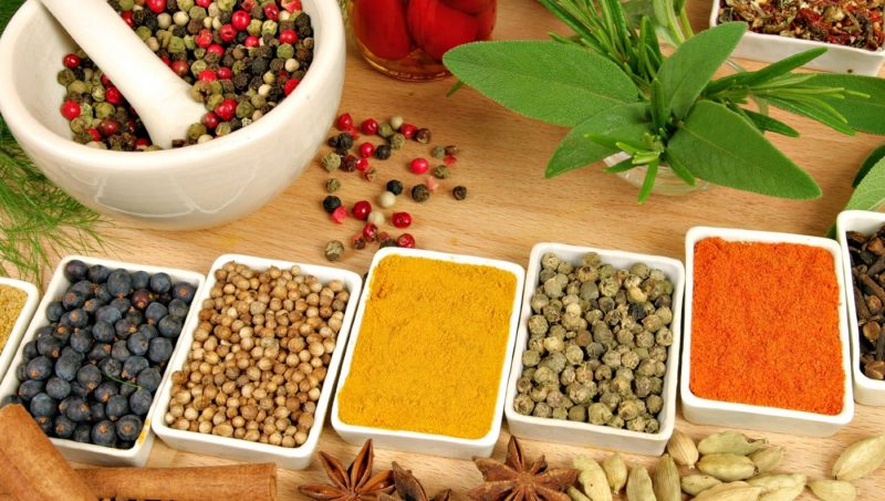 All kinds of Evergreen Foods for Immune